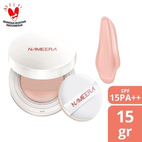 Foto Produk NAMEERA NATURALLY LUMINOUS BB CUSHION SPF 15 NUDE 15 GR dari Nameera Official Store