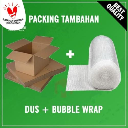 Foto Produk Packing Tambahan Dus + Bubble Wrap dari Maximum Chemical