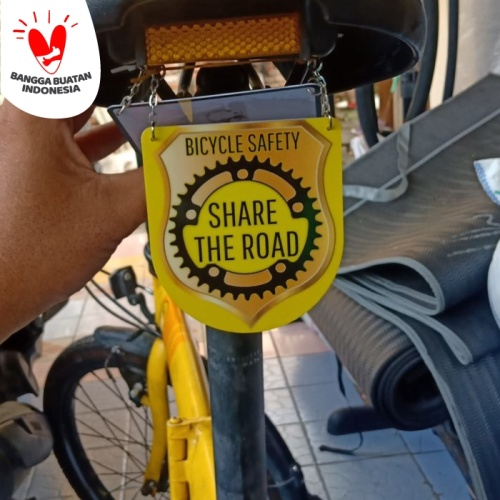 Foto Produk Board Sadel Sepeda,tag sadel sepeda,peneng aksesoris sepeda - Share The Road dari diks adventure