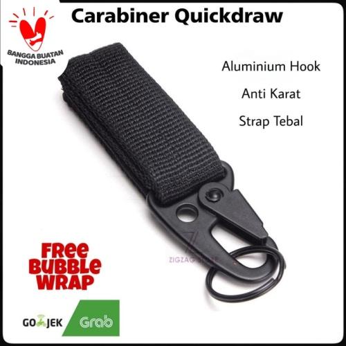 Foto Produk Carabiner Military Quick draw / Gantungan Carabiner dari ZigZag-Store