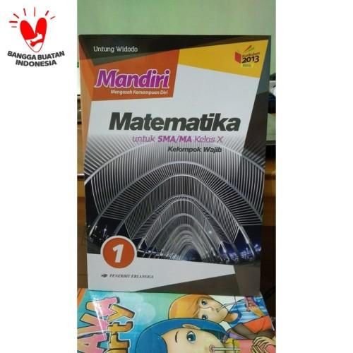 Foto Produk MANDIRI MATEMATIKA 1 UNTUK SMA/MA KELAS X ( K13N ) ERLANGGA dari Toko Buku Mata Air