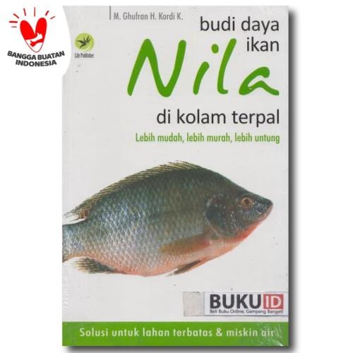Foto Produk Buku Budidaya Ikan Nila di Kolam Terpal dari Buku ID