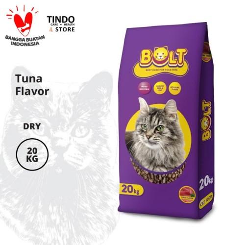 Foto Produk CPPETINDO Bolt Tuna Cat Food - 20 Kg dari CPPETINDO