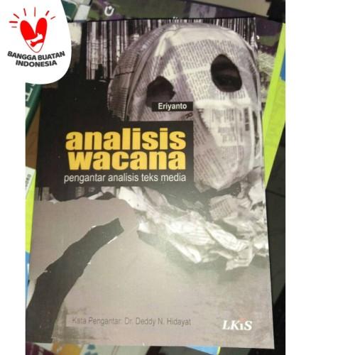 Foto Produk Analisis Wacana - Eriyanto dari City Store Malang