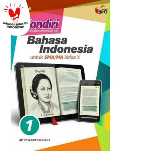 Foto Produk MANDIRI BAHASA INDONESIA 1 UNTUK SMA/MA KELAS X ( K13N ) ERLANGGA dari Toko Buku Mata Air
