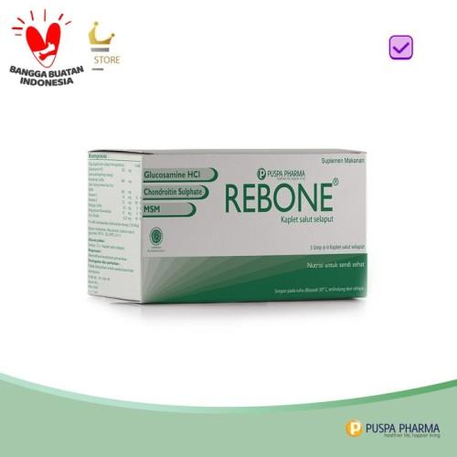 Foto Produk Rebone - Memelihara kesehatan persendian dari Puspa Pharma Store