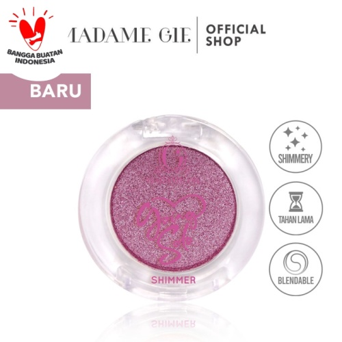Foto Produk Madame Gie Going Solo Shimmery Pressed Eyeshadow - MakeUp - Shimmery 07 dari Madame Gie Official