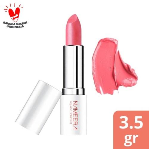 Foto Produk NAMEERA PURE GLOW MOISTURISING LIPSTICK BLUSHING ROSE 3.5GR dari Nameera Official Store