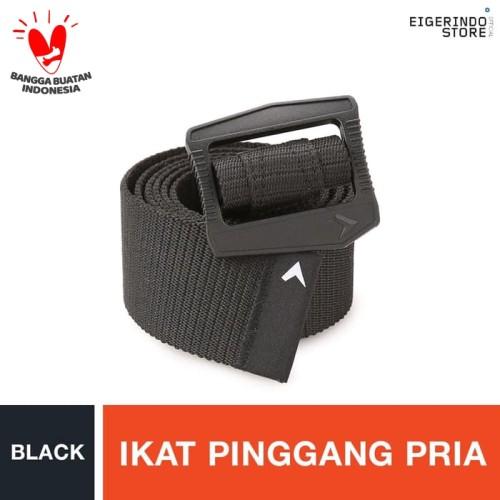 Foto Produk Eiger Wallgrid Belt - Black M - Hitam dari Eigerindo Store