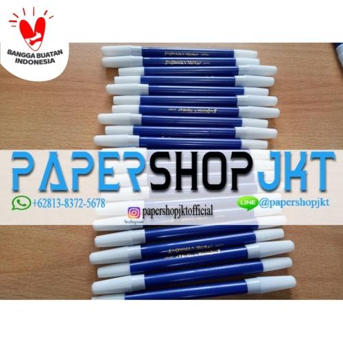 Foto Produk TERMURAH!!! Spidol Kecil Marker SNOWMAN BIRU - Biru dari Paper Shop Jkt