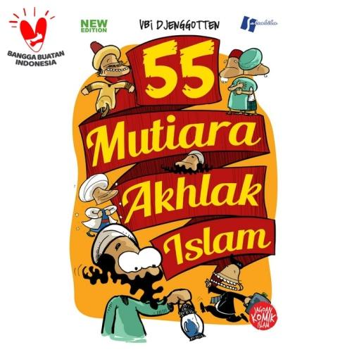 Foto Produk Komik 55 Mutiara Akhlak Islam dari Pustaka Al-Kautsar