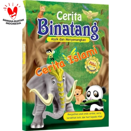 Foto Produk Buku Anak - Cerita Binatang - Dongeng Edukasi dari Kinantikomik