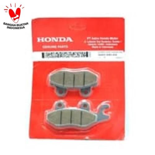 Foto Produk Kampas Rem (Disk) Cakram Depan Kharisma Supra X 125 (06455KR3404) dari Honda Cengkareng