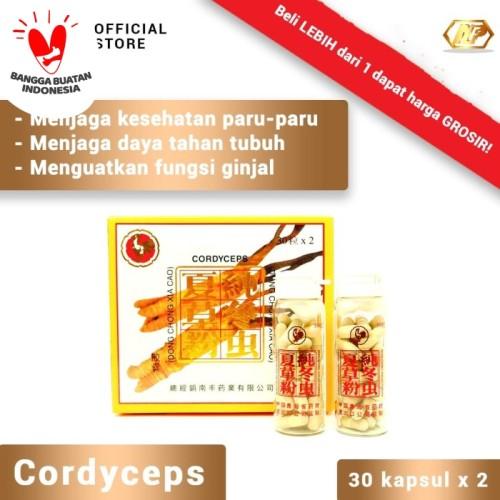 Foto Produk Nan Fung - Cordyceps Capsules Obat Herbal untuk kesehatan ginjal dari CITRA DELI KREASITAMA