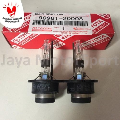 Foto Produk 1 psg Lampu HID Xenon D2R 6000k (White) HID Xenon Bulbs 90981-20008 dari Jaya Motorsport