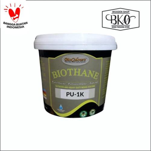 Foto Produk biothane cat kayu top coat PU waterbased biovarnish dari BKO Wooden shop