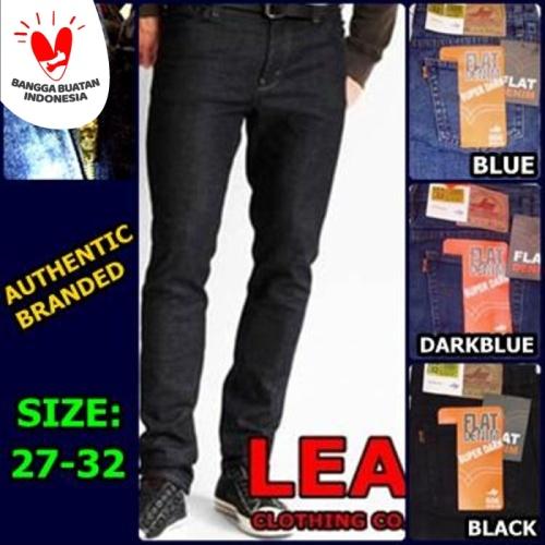Foto Produk Celana Jeans Standard Pria Merk LEA All Varian Ukuran 28 - 38 dari Grosir Pusat Surabaya