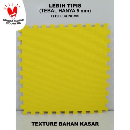 Foto Produk IMAGE TOYS edumat karpet matras evamat puzzle tikar 30 Ekonomis[10Lbr] - Kuning Kasar dari Image Toys