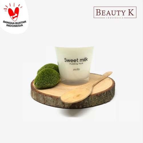 Foto Produk BeautyK Avotte Sweet Milk Pudding Pack dari BeautyK Indonesia