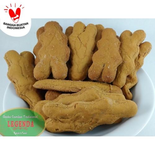 Foto Produk Kue Bangket Jahe Lidah 500gr dari Legenda Snack