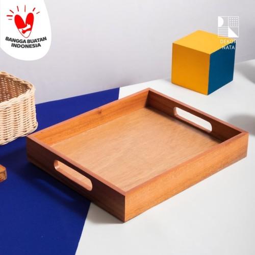 Foto Produk Wooden Tray/Nampan Kayu dari Dekornata