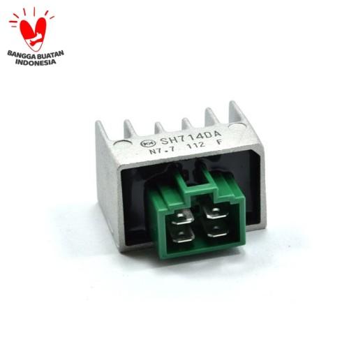 Foto Produk Rectifier Comp Regulator (Kiprok) - BeAT Karburator, Spacy dari Honda Cengkareng