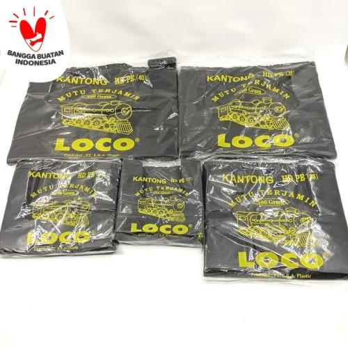 Foto Produk Kantong Plastik Kresek Loco HD Tebal Hitam 500 gr ukuran 17 - 40 - 17 dari TopJaya Plastik