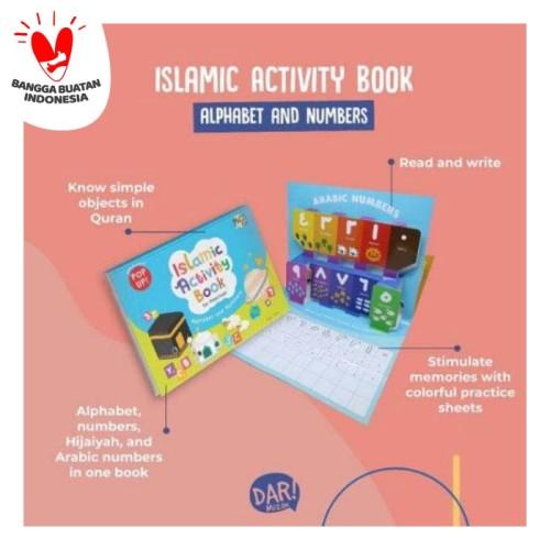 Foto Produk BBW : ISLAMIC ACTIVITY BOOK FOR PRESSCHOOL : ALPHABET AND NUMBERS dari Mizanstore