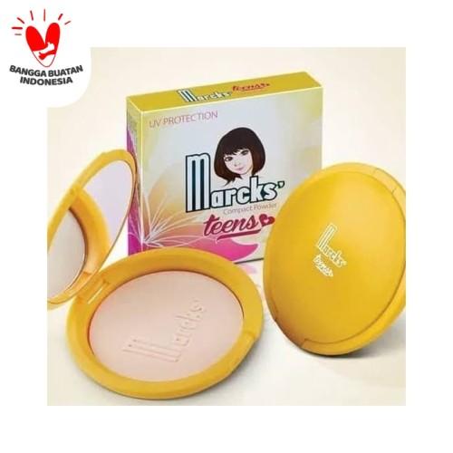 Foto Produk PADAT - Bedak Marcks teens compact powder original - Beige dari Bandung Kosmetik