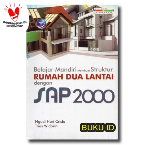 Foto Produk Buku Belajar Mandiri Membuat Struktur Rumah Dua Lantai Dengan SAP 2000 dari Buku ID