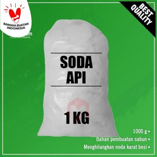 Foto Produk Soda api / Caustic Soda / NaOH 1 kg dari Maximum Chemical