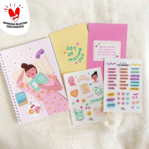 Foto Produk Joy of Missing Out Journaling Kit (Complete Set) dari Dinda Puspitasari Studio