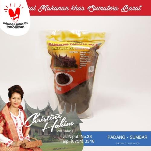 Foto Produk Rendang Daging / Rendang Padang Basah Christine Hakim 500gr dari DAPUR KIARA Kuliner