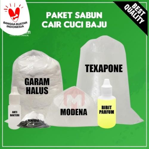 Foto Produk Paket Hemat DIY Bahan Sabun Cair Cuci Baju / DIY Liquid Soap dari Maximum Chemical