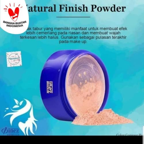 Foto Produk INEZ NATURAL FINISH POWDER PLUS UV PROTECTION dari Shine Beauty Skin