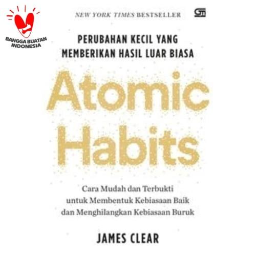 Foto Produk Atomic Habits: Perubahan Kecil yang Memberikan Hasil Luar Biasa dari Gramedia Official Store