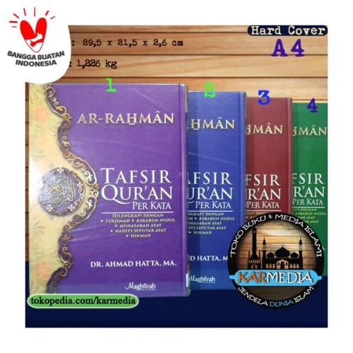 Foto Produk Tafsir Qur'an Perkata - Maghfirah Pustaka - Dr Ahmad Hatta MA dari karmedia