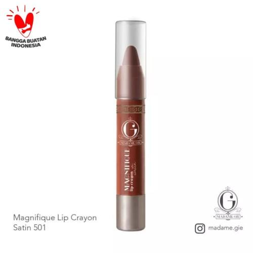 Foto Produk Madame Gie Magnifique Lip Crayon Satin - SATIN 501 dari Debelleza Shop