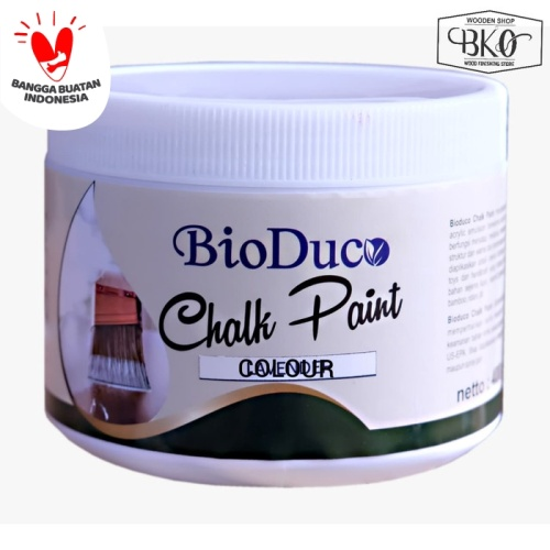Foto Produk bio duco chalk paint biovarnish waterbased 400gr dari BKO Wooden shop