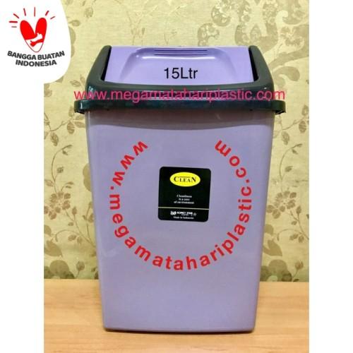 Foto Produk Tempat Sampah 15 Ltr (Tutup Goyang) dari Matahari Plastic