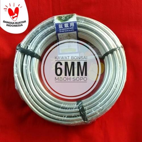 Foto Produk Kawat Bonsai 1 Rol - Ukuran 6 mm dari Mboh Sopo