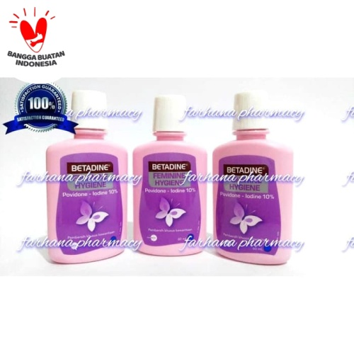 Foto Produk Promo Asli Betadine Feminine Hygiene 60 ml / Pembersih Kewanitaan dari Farhana Pharmacy
