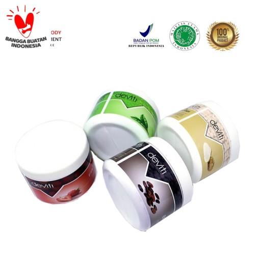 Foto Produk Lulur Cream Deviti -250 gr- 5 All Variant - Vanilie dari Deviti Indonesia