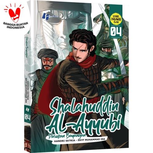 Foto Produk Komik Shalauddin Al Ayyubi #4 Pasukan Bayangan dari Pustaka Al-Kautsar