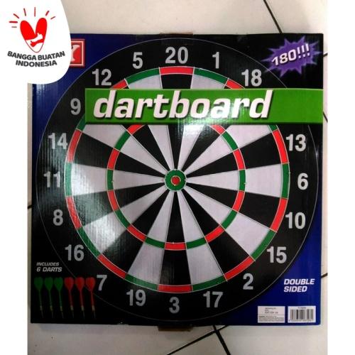 Foto Produk Dartboard / Dart board / Dartgame / Dart Game 17 INCH dari kinantisport