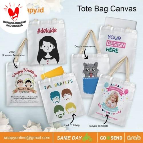 Foto Produk Cetak Totebag Canvas custom dari snapy