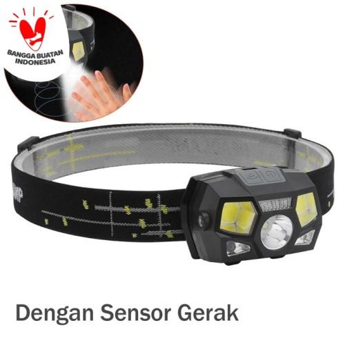 Foto Produk Senter kepala / Headlamp / Senter LED 10000 Lumens dengan sensor gerak dari Rumah Susun