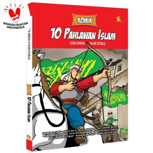 Foto Produk Komik 10 Pahlawan Islam dari Pustaka Al-Kautsar