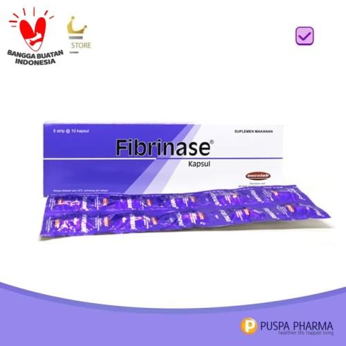 Foto Produk Fibrinase - Membantu sirkulasi darah dari Puspa Pharma Store