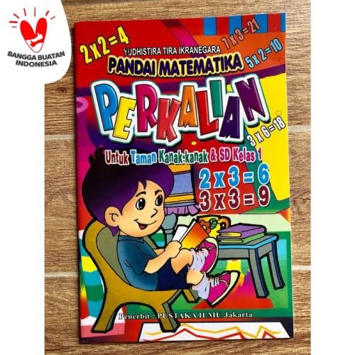 Foto Produk Buku Belajar Perkalian untuk Anak TK dan SD Kelas 1 dari Kinantikomik